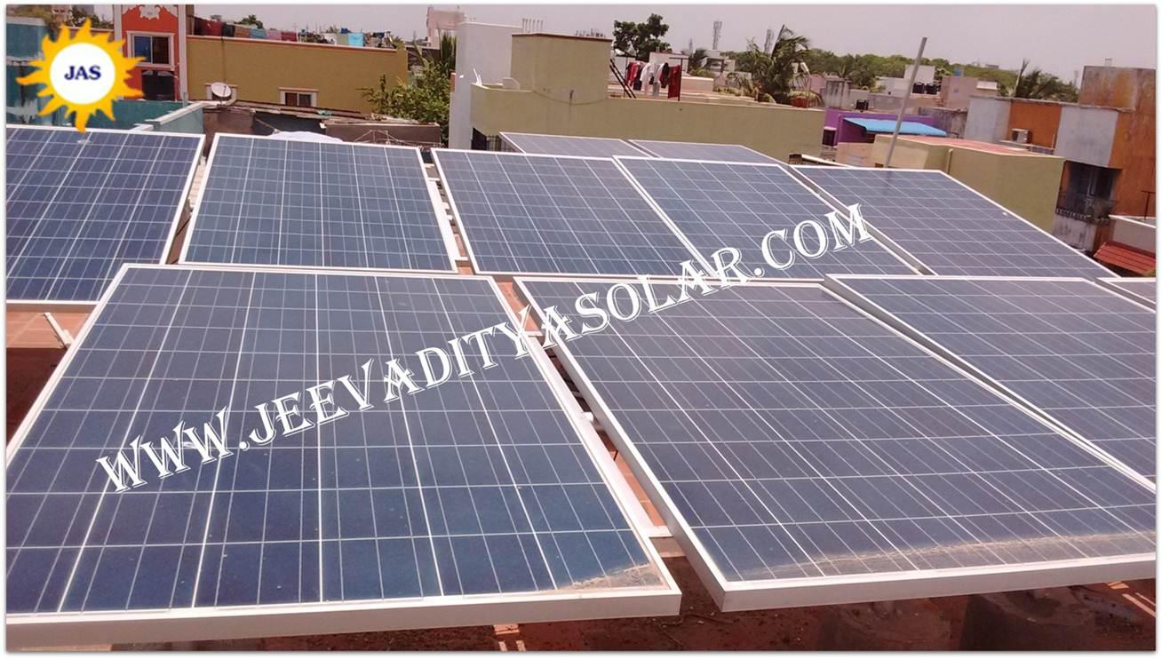 1kw, 5kw Solar System Price in Chennai